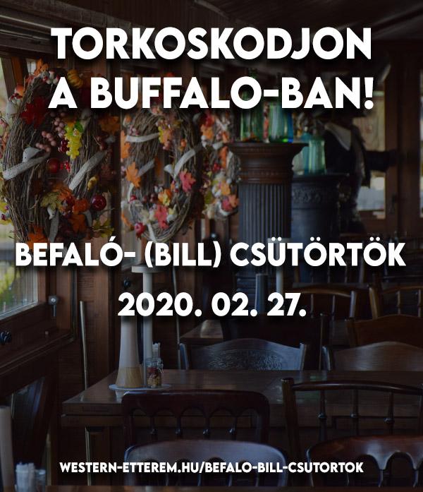 Buffaló- (Bill) csütörtök